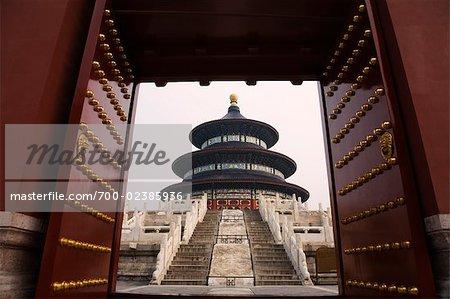 La salle de prière pour une bonne récolte, Temple du ciel, Pékin, Chine