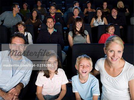 Eine Familie einen Film