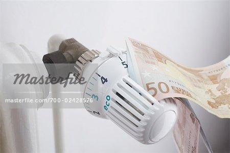 Euros sur Thermostat