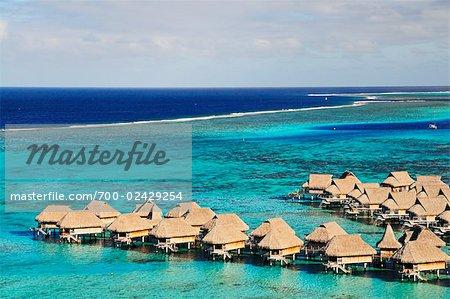 Temae Beach, Moorea, Society Islands, French Polynesia, South Pacific