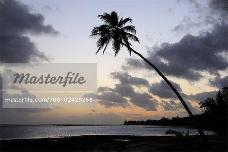 Titikaveka Beach, Rarotonga, Cook Islands, South Pacific