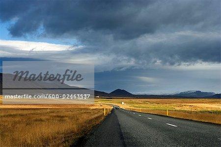 Route et paysage, Snaefellsnes, Islande