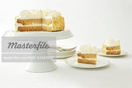Nature morte de gâteau