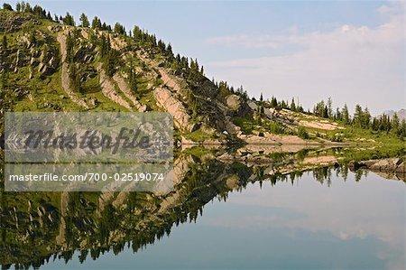 Rock Isle Lake, Sunshine Meadows, Parc National Banff, Alberta, Canada