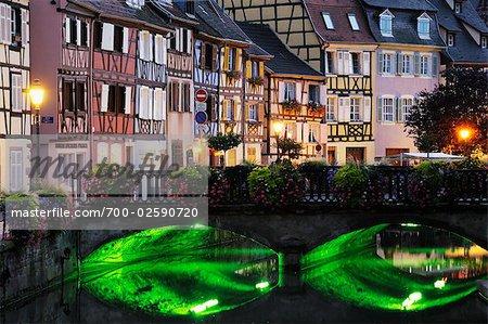 Petit Venice, Old Town of Colmar, Haut-Rhin, Alsace, France
