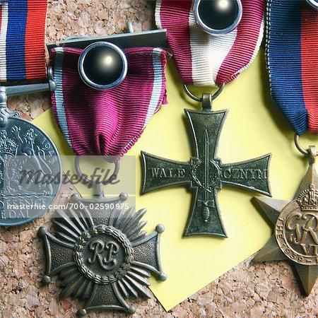 Krieg Medaillen