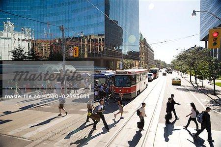 Rue College et University Avenue, Toronto, Ontario, Canada