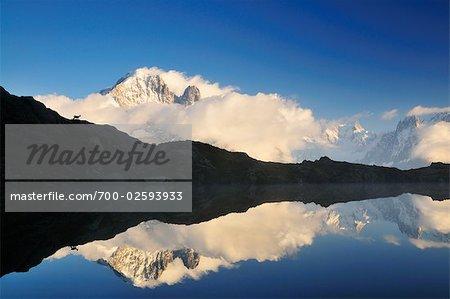 Auguille Verte et les Lacs de Cheserys, Chamonix, France