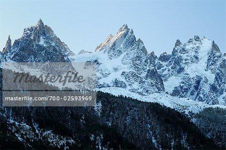 Aiguilles de Chamonix, Chamonix, France