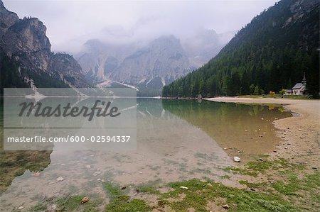 Pragser Wildsee, Tyrol du Sud, Italie