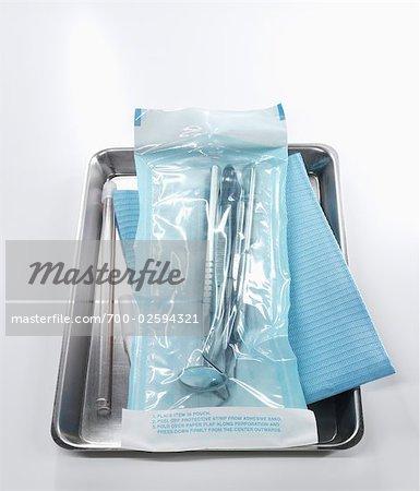 Dentistry Tools on Tray
