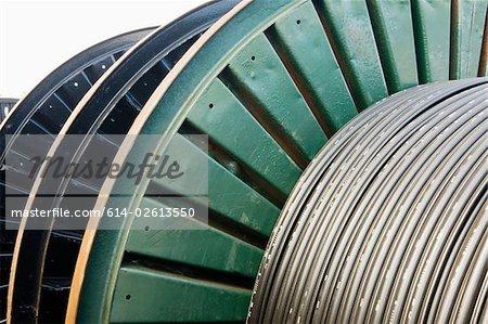 Un tambour de câble