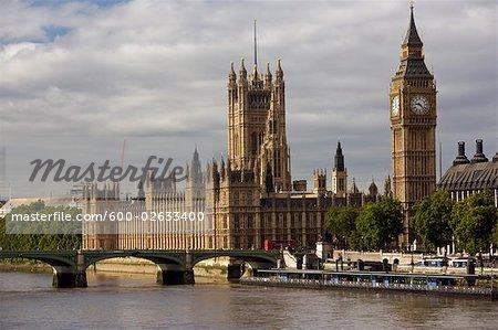 Westminster Palace and Big Ben, London, England, United Kingdom