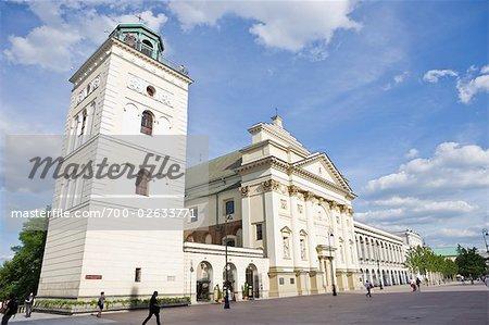 St Anne's Church, Krakowskie Przedmiescie, Old Town, Warsaw, Poland