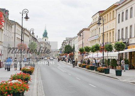 Nowy Swiat Street, Warsaw, Poland