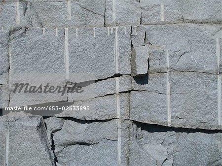 A rock wall, full frame