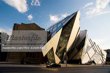 Michael Lee-Chin Crystal, Musée Royal de l'Ontario, Toronto, Ontario, Canada
