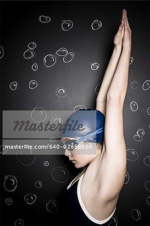 nageur sous-marin