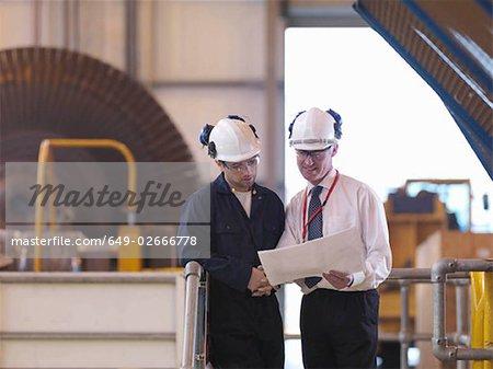 Ingénieurs en Turbine Hall