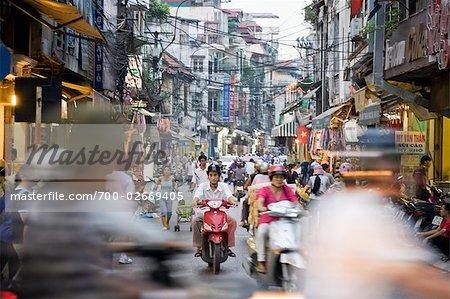 Gebucht-Straße, Altstadt, Hanoi, Vietnam
