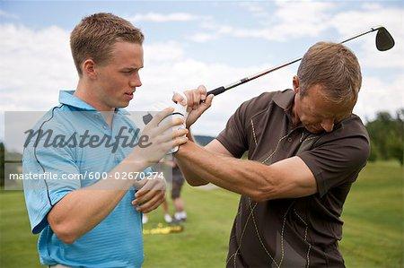 Man lernen, wie Golf, Burlington, Ontario, Kanada