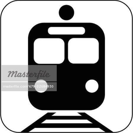 S-Bahn-Symbol, Computer-Grafiken.