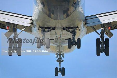 Avion, Francfort-sur-le-main, Hesse, Allemagne