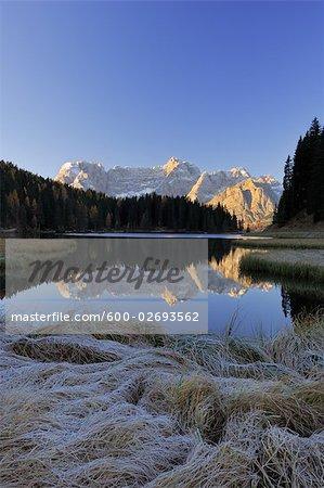 Lago di Misurina, Dolomites, Sorapis Mountain, Belluno Province, Veneto, Italy