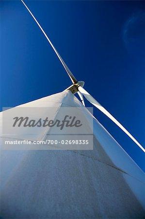 Wind Turbine, Bird's Landing, California, USA