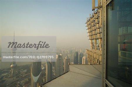 Übersicht über Shanghai, China