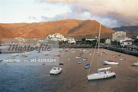 Saint-Sébastien, La Gomera, Iles Canaries, Espagne, Atlantique, Europe