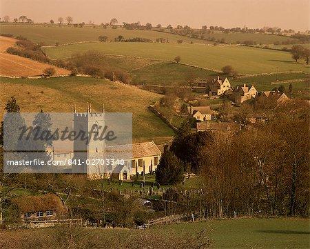 Naunton village, Gloucestershire, The Cotswolds, England, United Kingdom, Europe