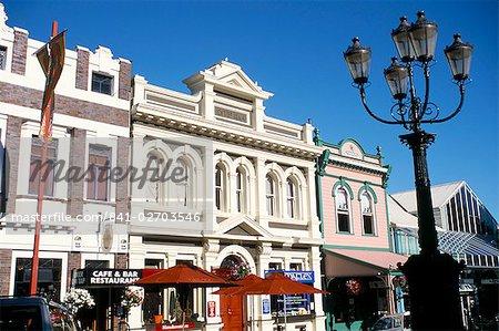 Trafalgar Street, Nelson, Marlborough, Nouvelle Zelande, Pacifique