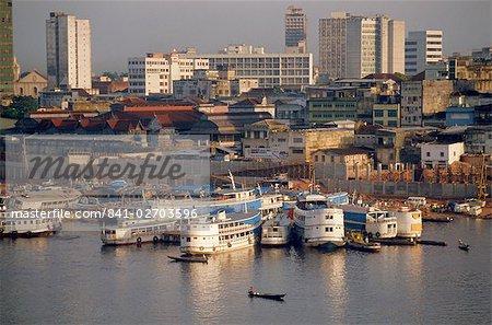 Manaus, au Brésil, en Amérique du Sud