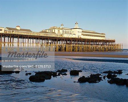 La jetée, Hastings, Sussex, Angleterre, Royaume-Uni, Europe