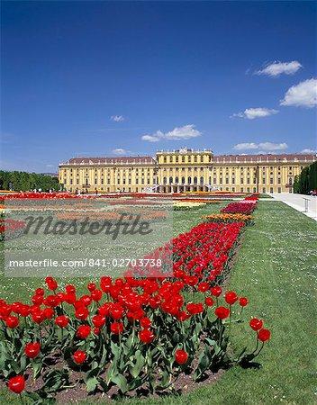 Palais et jardins de Schönbrunn, patrimoine mondial de l'UNESCO, Vienne, Autriche, Europe
