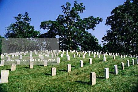 Arlington Cemetery, Virginia, United States of America, North America