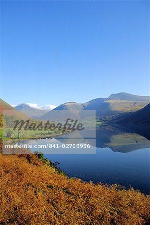 Wastwater, Parc National de Lake District, Cumbria, Angleterre, Royaume-Uni