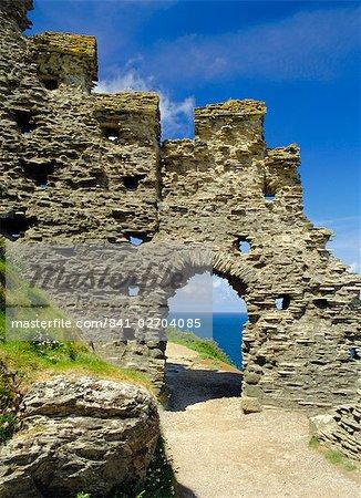 Tintagel Castle, Cornwall, England, United Kingdom, Europe