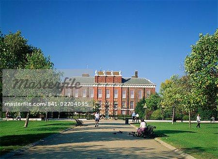 Kensington Palace, Kensington Gardens, Londres, Royaume-Uni, Europe