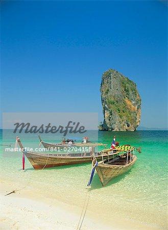 Ko Poda, Krabi, Thaïlande, Asie