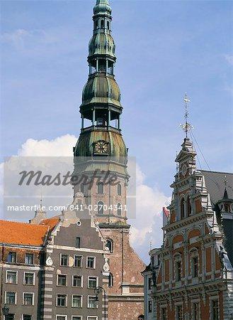 Cathédrale Saint-Pierre, Riga, patrimoine mondial de l'UNESCO, Lettonie, pays baltes, Europe