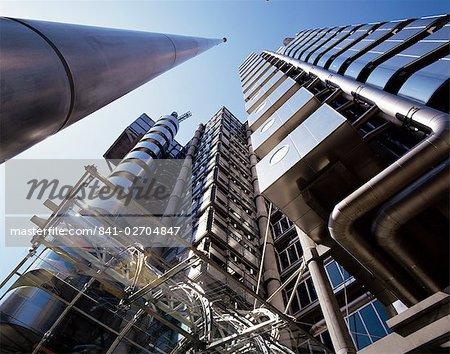 Lloyd ' s Building, l'architecte Richard Rogers, City of London, Londres, Royaume-Uni, Europe