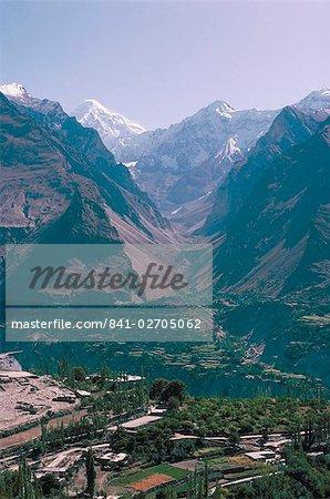 Vallée de Hunza, Karakorums, Pakistan, Asie