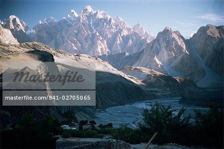 La Hunza valley, Pakistan, Asie