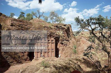 Église Abba Libanos, Lalibela, patrimoine mondial de l'UNESCO, Ethiopie, Afrique