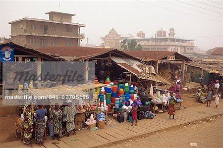 Scène de rue, Porto Novo, Bénin, Afrique de l'Ouest, Afrique