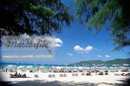 Patong Beach, Phuket, Thaïlande, l'Asie du sud-est, Asie