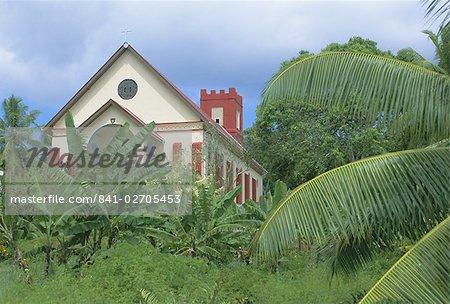 Anse Boileau église, Mahe Island, Seychelles, Seychelles, Afrique