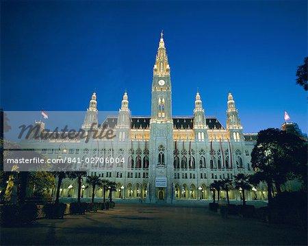 Rathaus (Town Hall), Vienna, Austria, Europe